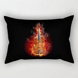 Party on Fire Rectangular Pillow