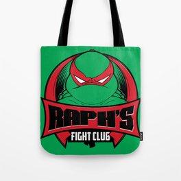 Raph's Fight Club Tote Bag
