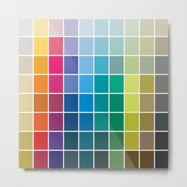 Colorful Soul - All colors together Metal Print