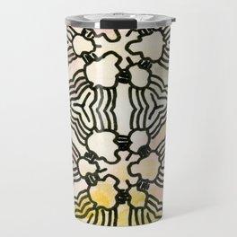 Floral Circuitry Travel Mug