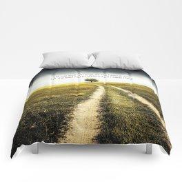 The ground beneath Comforters