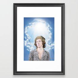 Heavenly Harry 2 Framed Art Print