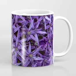 Purple giant garlic flowers Coffee Mug