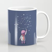 constellation Mugs featuring Constellation by Freeminds