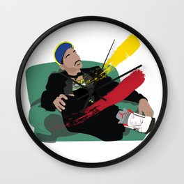 Still The Fresh Prince Poster Wall Clock