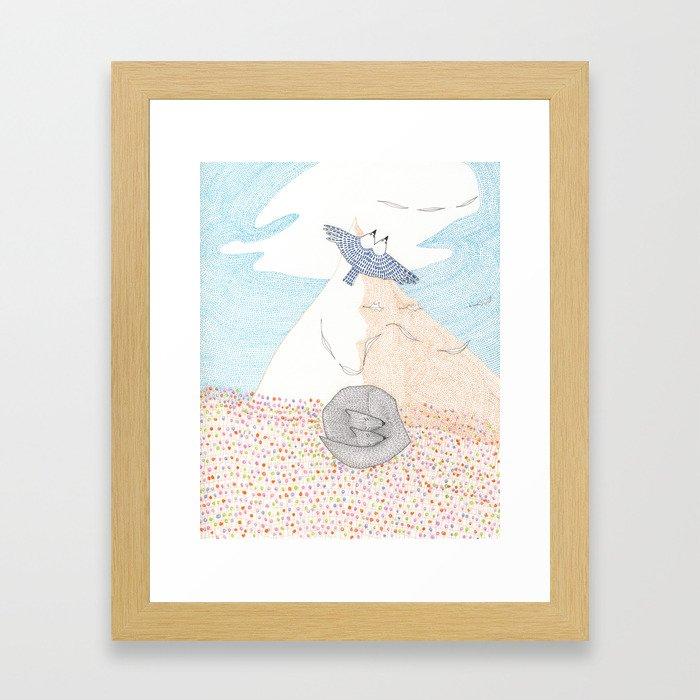 EVEN AIR Framed Art Print