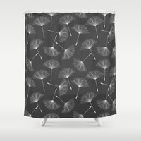 dandelion Shower Curtains featuring Dandelion by Rceeh