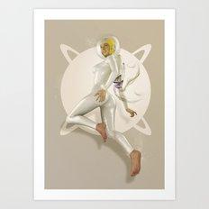 Sci-Fi PinUp Art Print