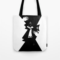 cyclops Tote Bags featuring Cyclops by 5wingerone
