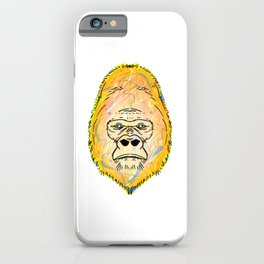 Albino Gorilla iPhone Case