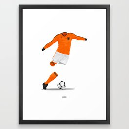 Netherlands (KNVB) 1978 Framed Art Print