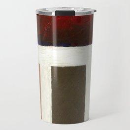 Textured Cubism -Modern Art - Office Art - Hospitality Art Travel Mug