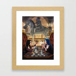Poison Kitchen Framed Art Print