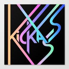 Kickass III Canvas Print