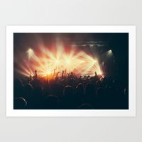 it crowd Art Prints featuring Crowd by Jesse DeFlorio