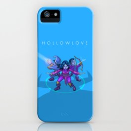 Hollowlove Everything Falls In Line iPhone Case