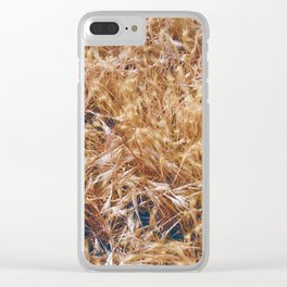 Golden Rays of Sun Clear iPhone Case