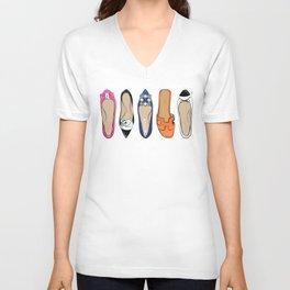 Designer Brand Shoes Unisex V-Neck