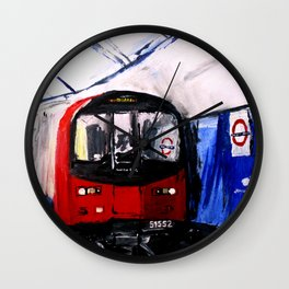 London Underground Northern Line Fine Art Wall Clock