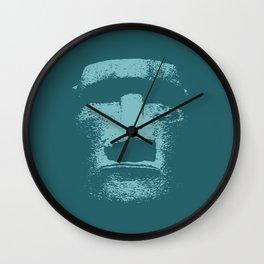 Maoi Head Wall Clock