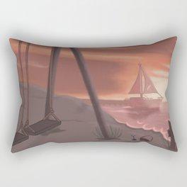 Beach glass Rectangular Pillow