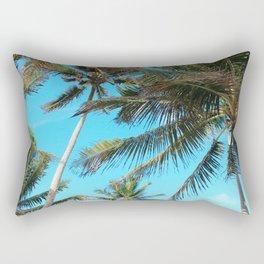 Belize Palms Rectangular Pillow