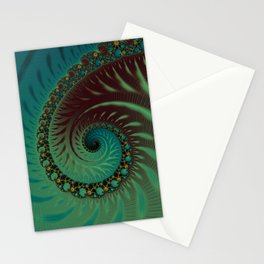 After Eight Dream - Fractal Art  Stationery Cards