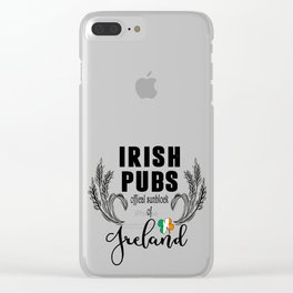 St. Patrick's Day Clear iPhone Case