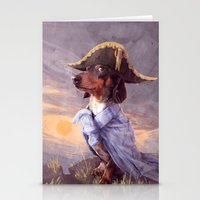 napoleon Stationery Cards featuring Little Napoleon by Tim Probert