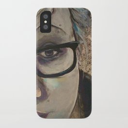 Smart Girl At The Party iPhone Case