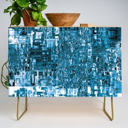 Circuitry Abstract Credenza