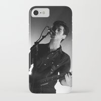 alex turner iPhone & iPod Cases featuring Alex Turner // Arctic Monkeys by Hattie Trott