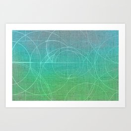 Aurea (Green Version) Art Print
