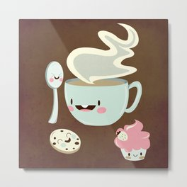 Coffee! Metal Print