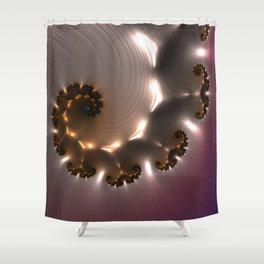Inna Light Shower Curtain