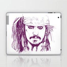Captain Jack - Pirates of the Caribbean Laptop & iPad Skin