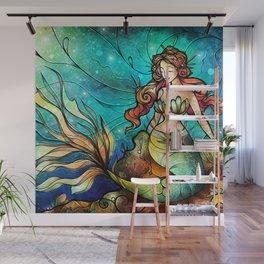 The Serene Siren Wall Mural