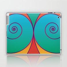 Swirly pretty thingies of goodness Laptop & iPad Skin