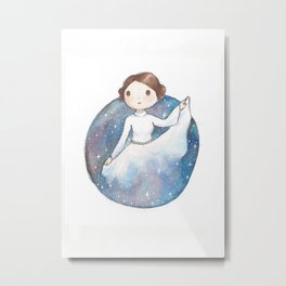 Princess Leia Metal Print