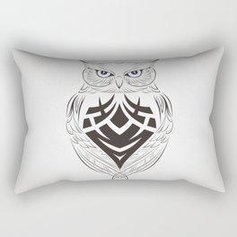Owl Vector Rectangular Pillow
