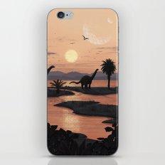 Jurassic Beach iPhone & iPod Skin