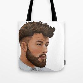 Portrait 09 Tote Bag