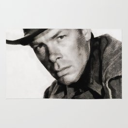 Lee Marvin, Vintage Actor Rug