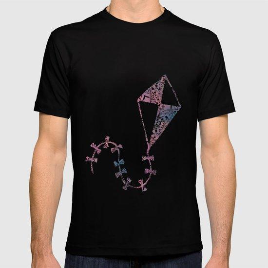 Theta Print-Pastel T-shirt
