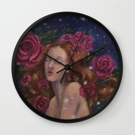 Stella Rosa Wall Clock