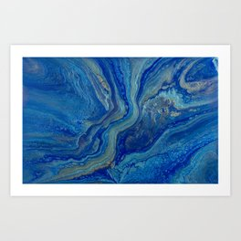 Agate - An Abstract Art Print