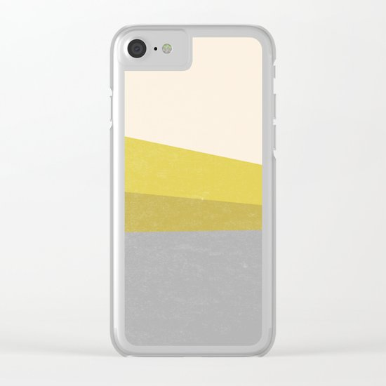 Stripe III Clear iPhone Case