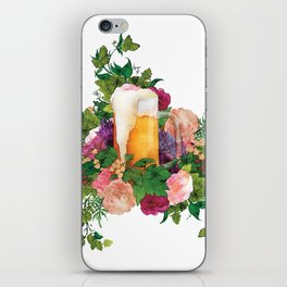 Beer Bouquet iPhone Skin