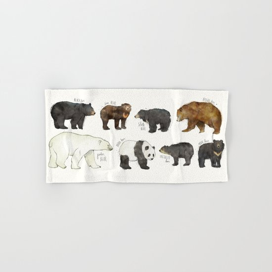 Bears Hand & Bath Towel