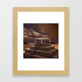 Thinkin II Framed Art Print